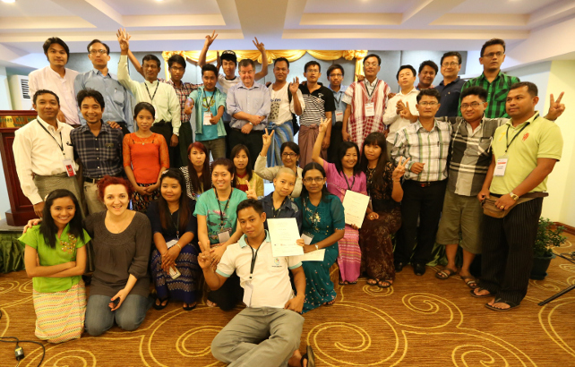 APJC helps prepare Myanmar media for reporting elections