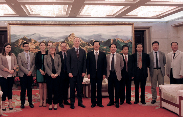 China Australia exchange explores economies and cultures